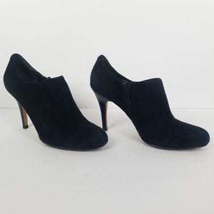 Cole Haan Nike Air Black Suede Boots Booties 8